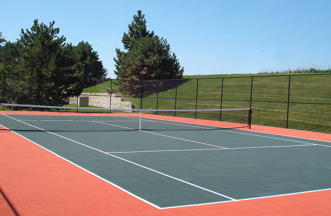 Two tennis courts - recently resurfaced