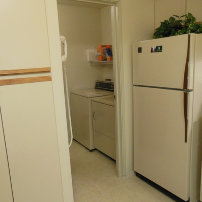 Saddlebrook Kitchen and Laundry Room