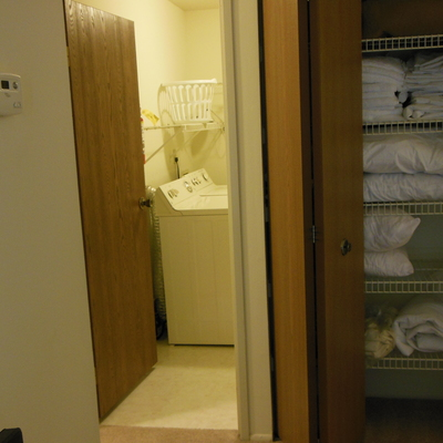 Wellington Laundry Room & Linen Closet