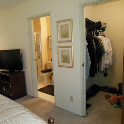 Saddle Brook Master with walk-in and in-suite bath